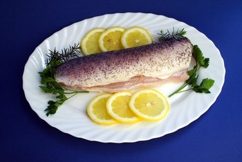 Fish is a rich source of complete protein.