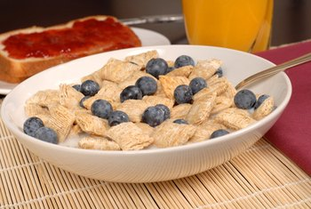 Cereal can be a healthy breakfast option.