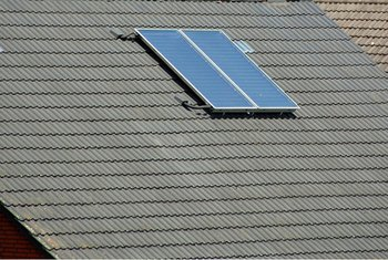 Solar panels qualify as energy-efficient improvements for a VA refinance.