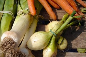 Carrots and onions are a great flavor boost to any meat or vegetable stock.