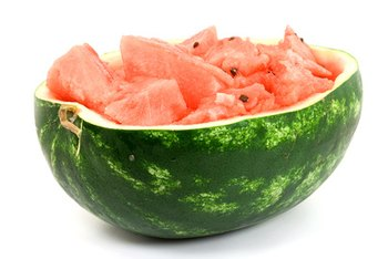 Raw watermelon contains beneficial nutrients, including lycopene.