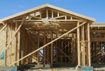 Wood frame construction is among the most common types.