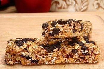 Homemade snack bars -- yum!