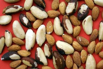 Nuts have health benefits during pregnancy, as long as you don't overindulge.