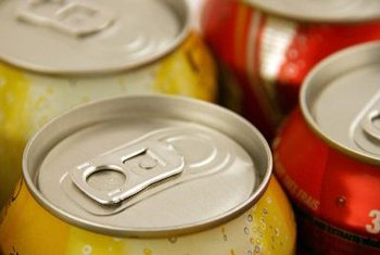A serving of soda is 8 ounces, but a can of soda is 12 ounces -- or 1.5 servings.