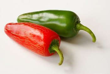 Jalapenos are a chili pepper that are green or red in color.