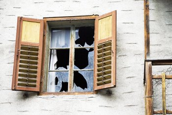 Homeowners insurance pays for repairs from vandalism and other causes.