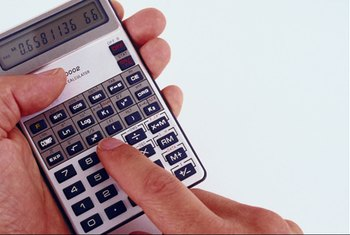 A calculator simplifies figuring your house payments.