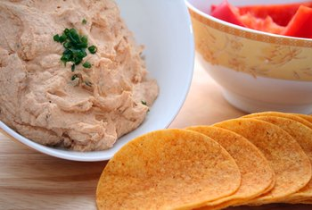 Crab dip is healthy in moderation.