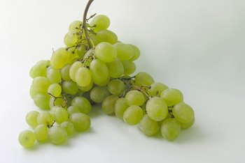 Grapes contain a high concentration of copper.