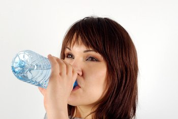 Research indicates water aids weight loss.