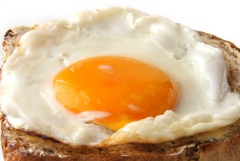 You'll get vitamin B-12 at breakfast from your fried egg.