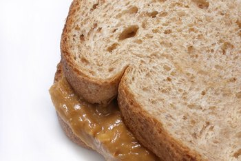 The standard serving size for peanut butter is 2 tablespoons.