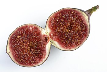 Figs are an excellent source of fiber.