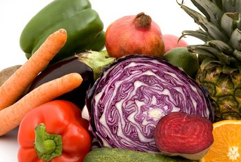 Fruits and vegetables are a good source of fiber for men.