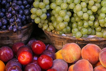 Unprocessed foods, such as fresh fruit, can fit into any budget.