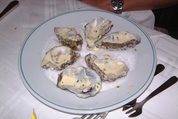 Eating raw oysters increases your risk for foodborne illnesses.