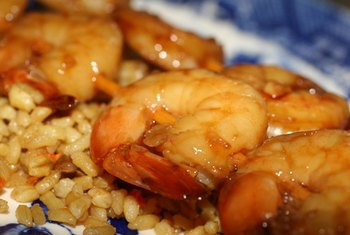 Shrimp has a high amount of selenium.