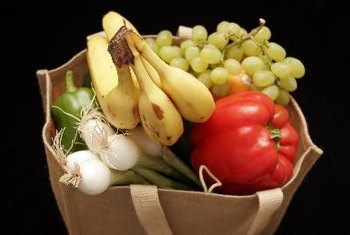 Stock up on fruits and vegetables as a healthy source of carbohydrates.