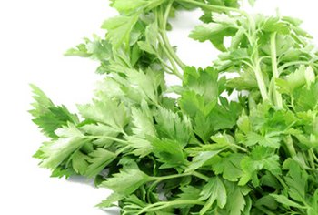 Parsley provides distinct flavor and health benefits.