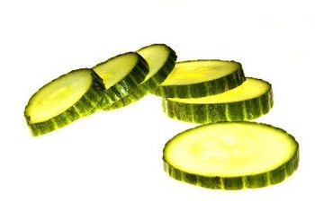 Keep the peel on your cucumber to get more vitamin K.