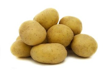 Potatoes contain less starch than brown rice.