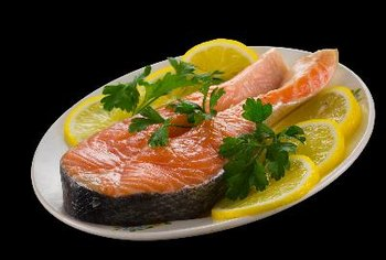 Salmon is a good source of vitamin D.