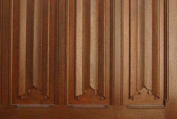 Unfinished paneling gives you the option of staining or painting.