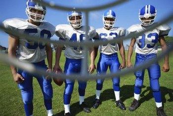 Repurpose Damaged NFL Jerseys Into Room Decor.