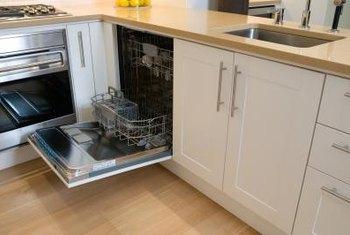 Dishwashers can create design challenges.