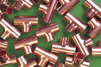 Use copper connectors that match the size of your pipes.
