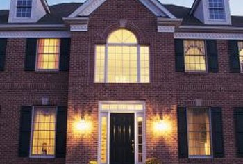 Landscape lighting can deter potential burglars.