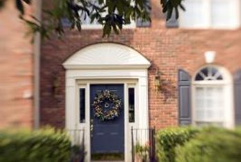 Once painted, your Benchmark fiberglass door will add to your home's curb appeal.