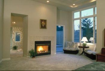 You don't need a mantel to have a marble fireplace surround.