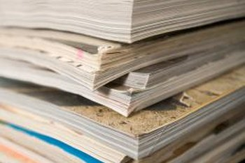 Magazines are recycled into tissue, copy paper, paperboard and other new materials.