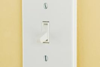 You can turn a ceiling fan on and off with a standard light switch.