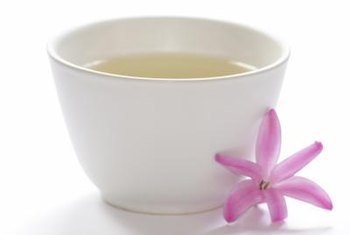 The catechins in white tea may help your body burn a few extra calories.