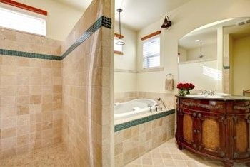 What Color of Walls Go Best With Light Brown Tile? | Home Guides ...