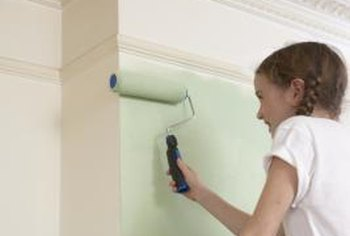 A bump-out supplies an ideal spot to switch paint colors.
