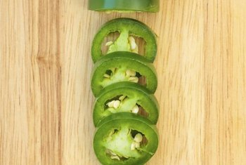 The heat of jalapenos comes from a compound called capsaicin.