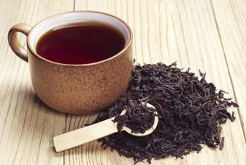 Black tea contains flavonoids and antioxidants that can benefit overall health.