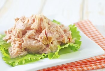 Seafood like tuna is easy to digest.