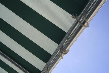 Replace worn awning string or cord at the end of every outdoor season.