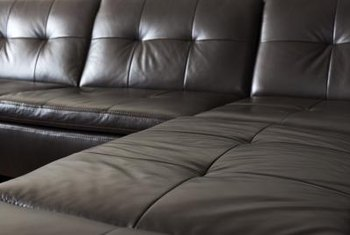 To create a sectional sofa look, you must minimize the arms.