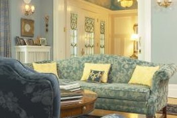 Good-quality furniture is worthy of reupholstering to replace worn fabric and fit your decor.