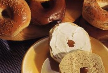 Eliminating bagels and cream cheese might help your waistline.
