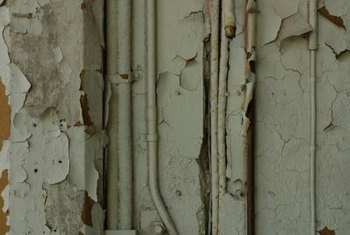 Proper surface preparation will prevent peeling paint.
