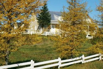 Stepping a rail or picket vinyl fence works best on steep slopes.