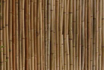 Due to the variety of shapes and colors of bamboo, fence-style options are numerous.
