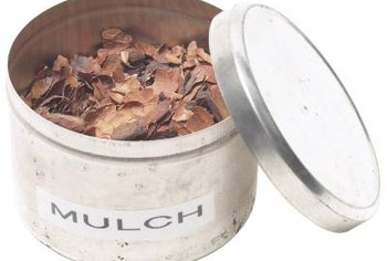 Most organic mulches should be applied to a depth of 3 to 4 inches.